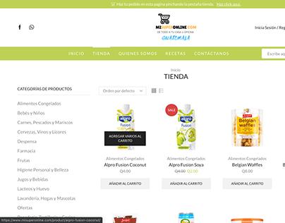 E-Commerce Mi Super Online
