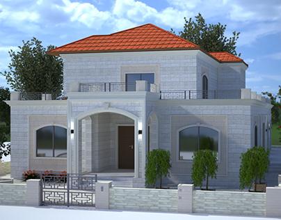Simple classic villa design