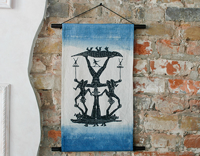 Indigo flag - Equilibrist
