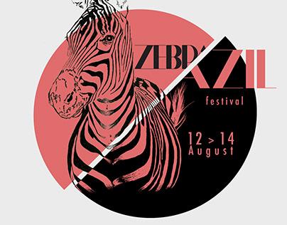 Affiche festival // ZEBRAZIL