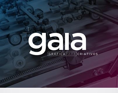 Gráfica Gaia - Brand and Web Site