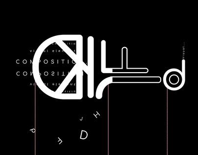 Typographic composition / Typographic poster series