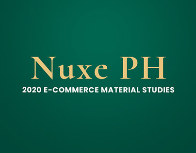 Nuxe PH E-Commerce Material Studies