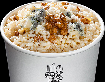 shooting a risotto for a food truck