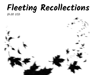 Fleeting Recollections - comic anthology