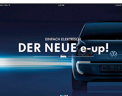 Volkswagen e-up! | The app for individual city tours