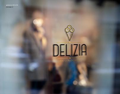 Branding   Gelateria Delizia