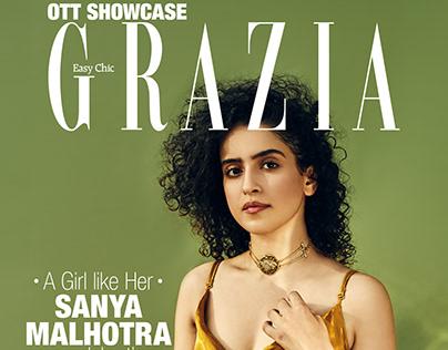 Sanya Malhotra for Grazia India   August 2020