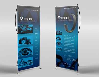 Axia - Exhibition Banners