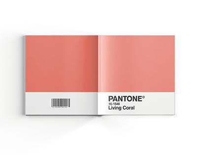 Catálogo Pantone - Living Coral 16-1546