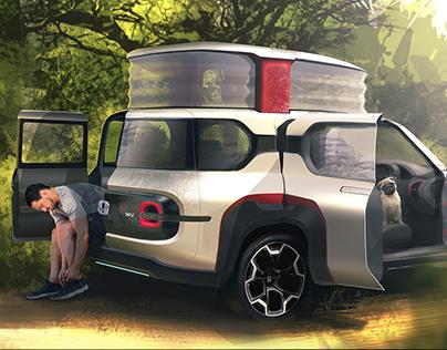Next Honda HRV - INTERNSHIP PROJECT