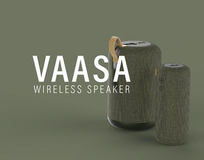 VAASA - Wireless Speaker