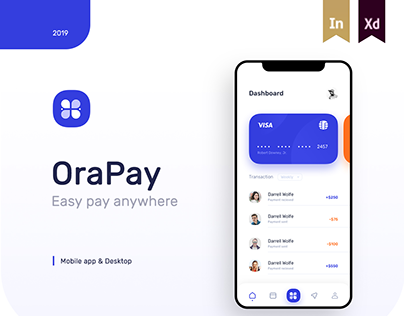 Financial App Design - Fintech