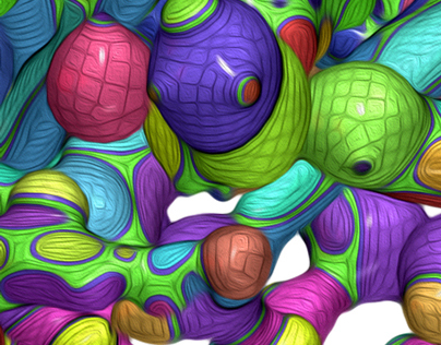 Colorful blobs