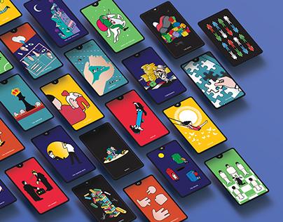 Kidult Tarot Card