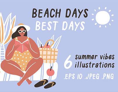 Beach days ☀ best days