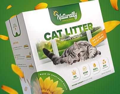Cat Litter – packaging design