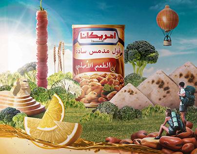 Americana Foul - Oriental Taste Origin