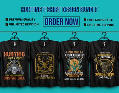 Hunting T-Shirt design bundle 2020