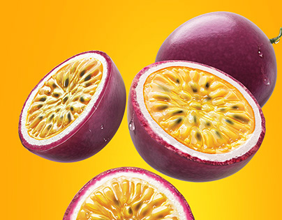 3D Fruits • Mucua/ Maracuja/Goiaba • Portugal