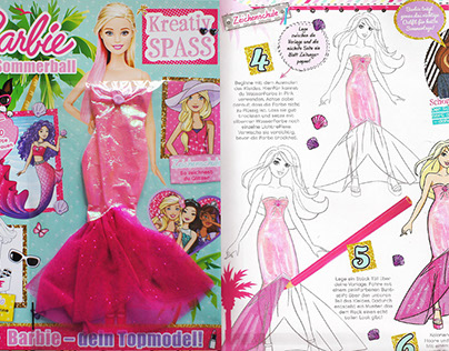 Barbie KreativSPASS Illustrations