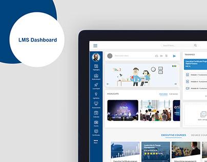 Dashboard UI- e-learning