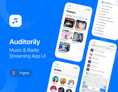 Auditorily App UI