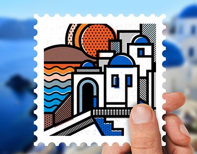 Destination: Greece | Stamp collection