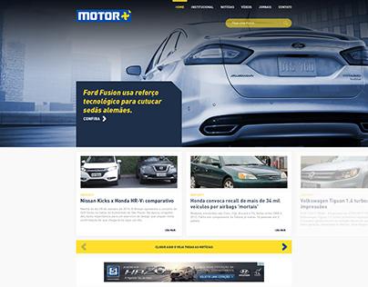 Motor +
