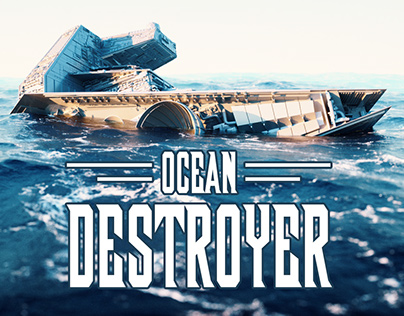 Ocean Destroyer (Star Wars fan art)