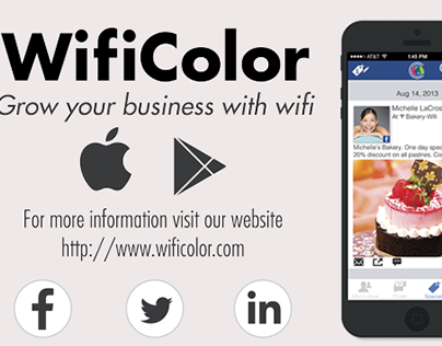 WifiColor - Social Networking Application