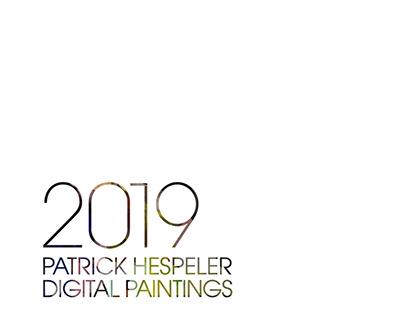 ILLUSTRATIONS CALENDAR 2019 DIGITAL PAINTINGS