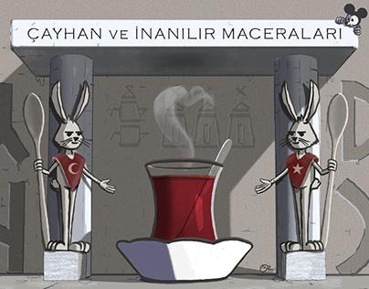 Çayhan ve İnanılır Maceraları (Comics)