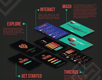 MASHED! - Conceptual UI Design and Poster