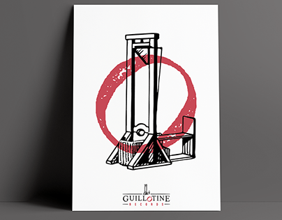 Guillotine Records | Branding Concept Project