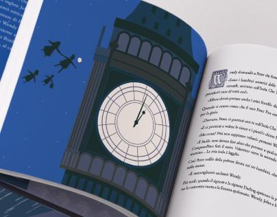 POCAHONTAS - PETER PAN | illustrated book