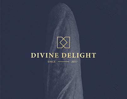 Divine Delight Bakery Cafe Brand Identity Design