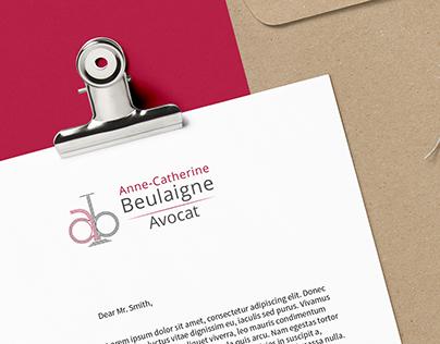 Avocat Beulaigne - Création de logo