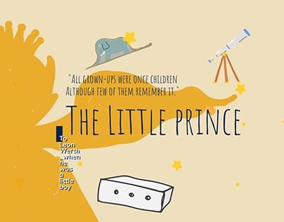 """The Little Prince""Website Design"