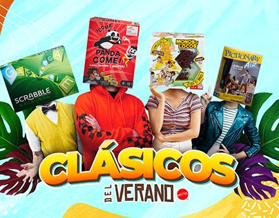 Clásicos del Verano - Mattel Games