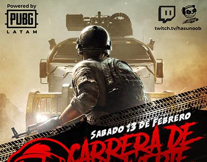 Poster Gaming Event: PUBG Latam
