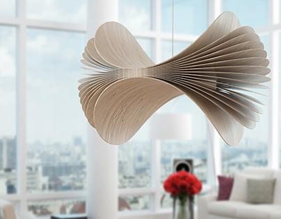 FAFELHO | plywood ceiling lamp