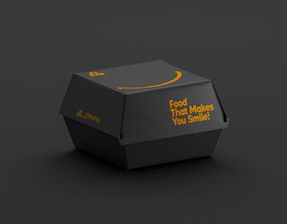 Jawa Fast Food Packaging design