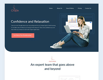 Crape - website redesign