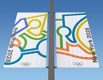 NY Olympics Logo