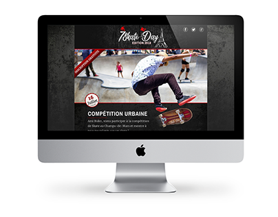 7Skate Day - One Page HTML
