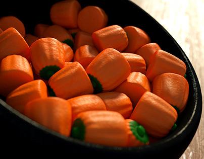 Pumpkin Candy Shader Study