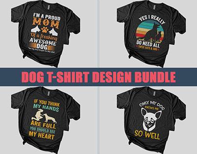 New Dog T-Shirt Design Bundle