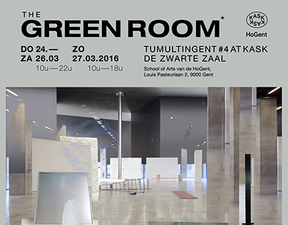 The Green Room — KASK exhibition