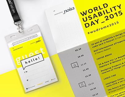 World Usability Day Rome 2015